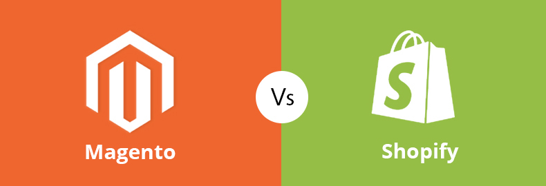 Magento Vs Shopify for Ecommerce stores